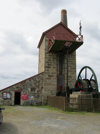East Pool Mine: Michell's winding engine or whim.