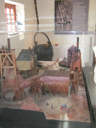 East Pool Mine: Model of EPM in the early 1900s.