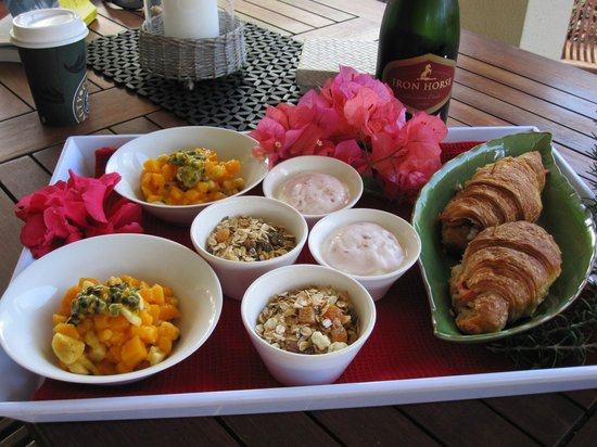 Makayla Palms: Rachel's beautiful breakfast