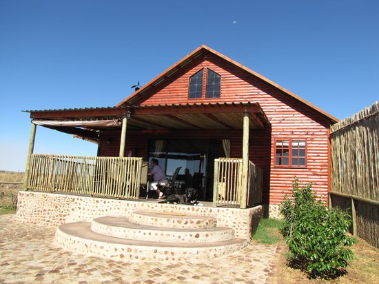 Stone Hill: Our chalet was very private and comfortable