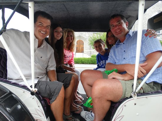 Cape May Carriage Company : Such a great time!