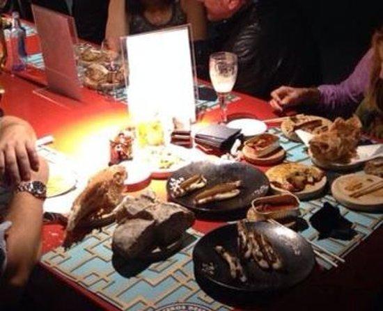 Casa Marcelo: Todo está buenísimo. Las ostras, navajas...