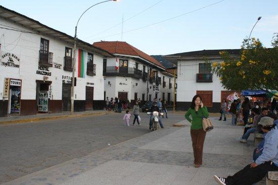 Hotel Plaza: Hotel en  la misma Plaza de Armas