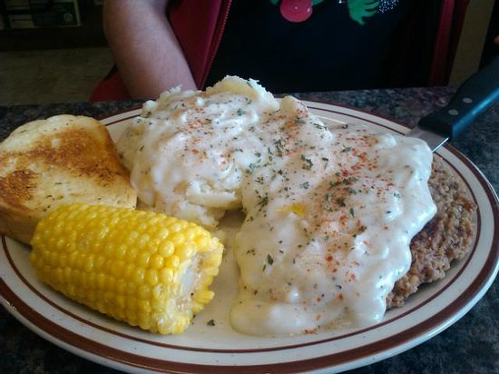 Last Stand Diner & Saloon: Chicken Fried Steak meal