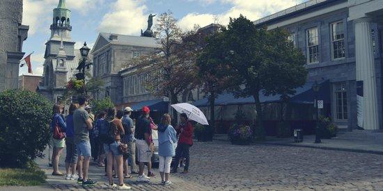 Free Old Montreal Tours : Chapelle Notre-Dame-de-Bon-Secours