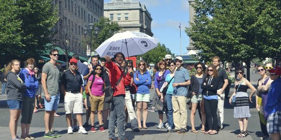 Free Old Montreal Tours: Place Jacques Cartier