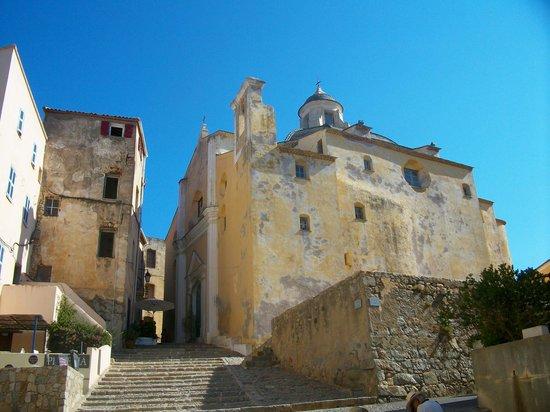 Calvi, Francia: Vue de l'intérieur de la citadelle
