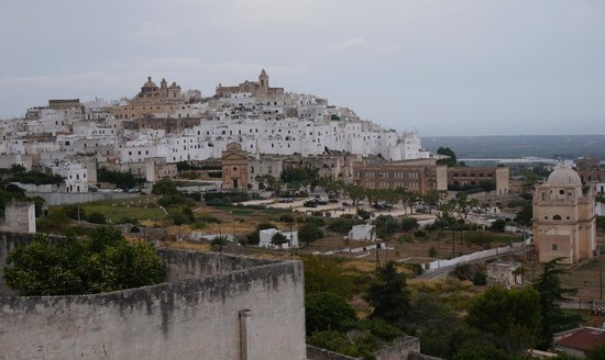 Ostuni Palace Hotel Meeting SPA: View Across from Hotel