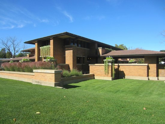 Frank Lloyd Wright's Darwin D. Martin House Complex: The Main House.