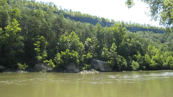 Big South Fork National River and Recreation Area: The Big South Fork has wonderful rock formations