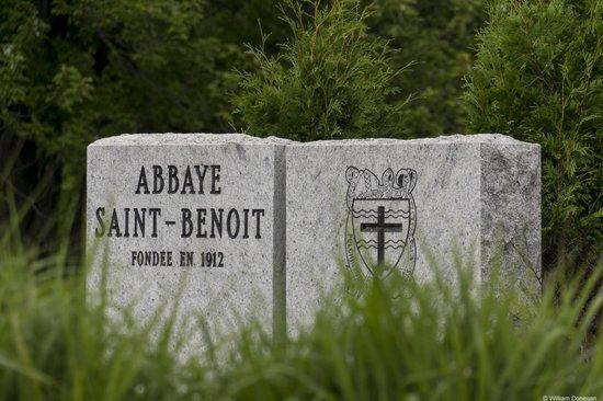 Saint Benedict Abbey : Entrance