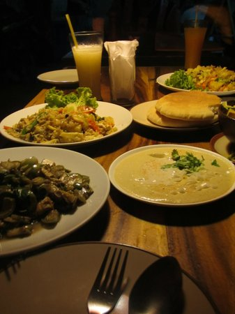 nice selection of unique dishes. very tasty