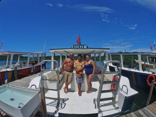 CoCo View Resort: Our Divemaster Eddie