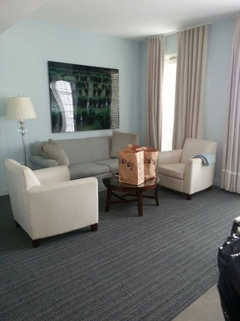 Lorien Hotel and Spa, a Kimpton Hotel: Terrace Suite #615; living area.