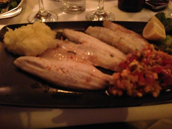 Trocadero: sea bass