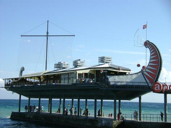 Grand cafe Apelsin: Le restaurant-café
