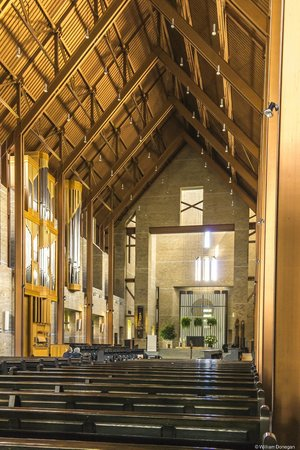 Saint Benedict Abbey : Simple and peaceful