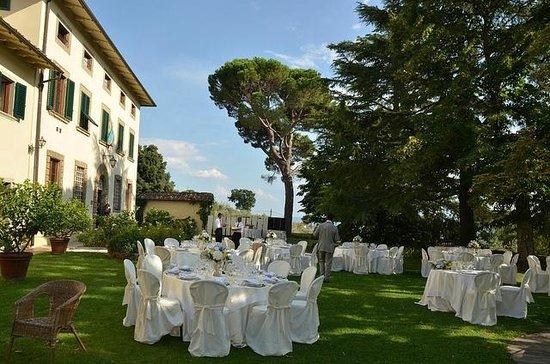 Relais Villa Belpoggio: wedding set up