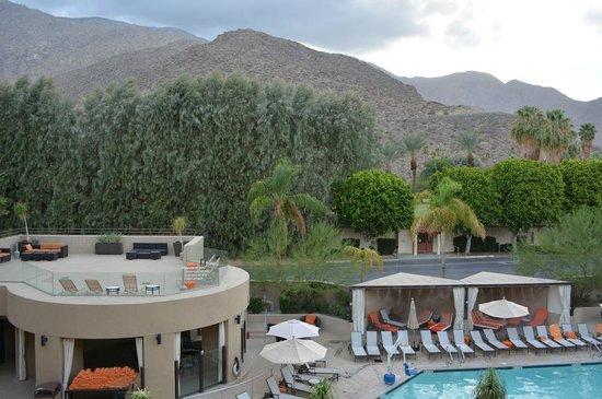 Hyatt Palm Springs: view from deck