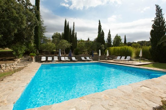 Moscari, Spanien: 9m x 9m pool, with fabulour views