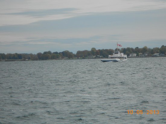 Horne's Ferry: 2nd Ferry from Wolfe Island to the U.S.
