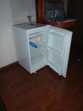 Homland Hotel : frigobar in camera