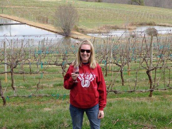 Crane Creek Vineyards: The vineyard