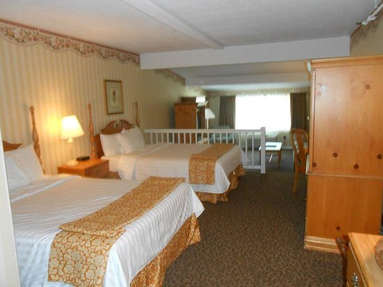 Lake Morey Resort: Garden View Deluxe room