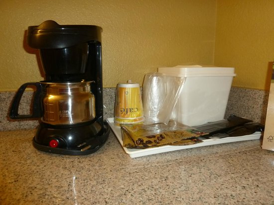Rosen Inn at Pointe Orlando: cafeteira