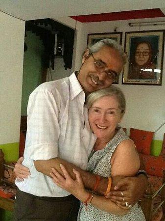 Bharti Massage Center: mr.Raju and me