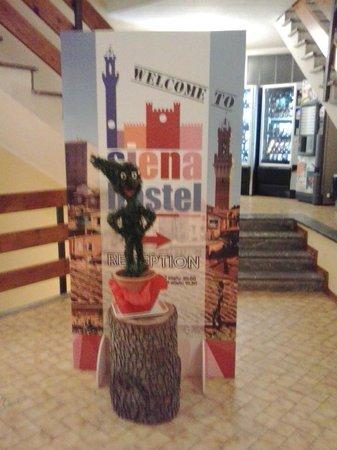 Siena Hostel Guidoriccio: ingresso