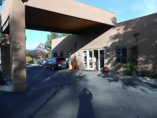 Santa Fe Sage Inn: Main lobby