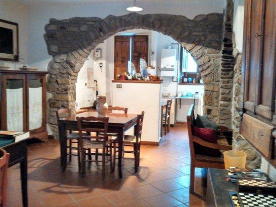 Living area picture of la casa di penelope e cirene - A casa di penelope ...