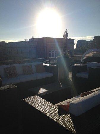 The Restoration: rooftop deck