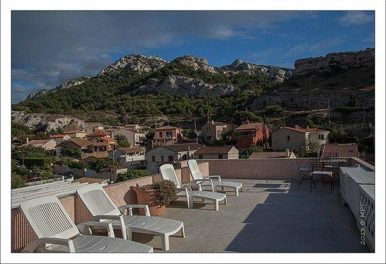 Villa d'Orient : Terrasse