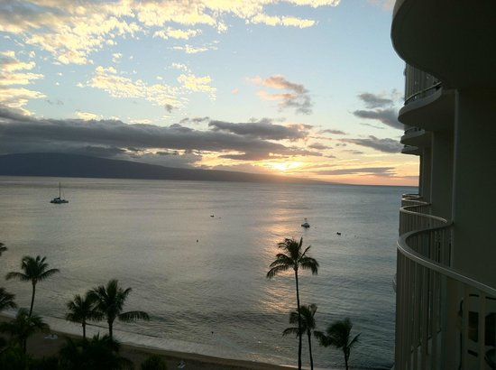 Westin Maui Resort And Spa : Stunning view from our room.