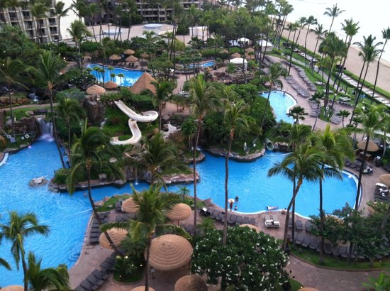 The Westin Maui Resort & Spa: Beautiful pools.