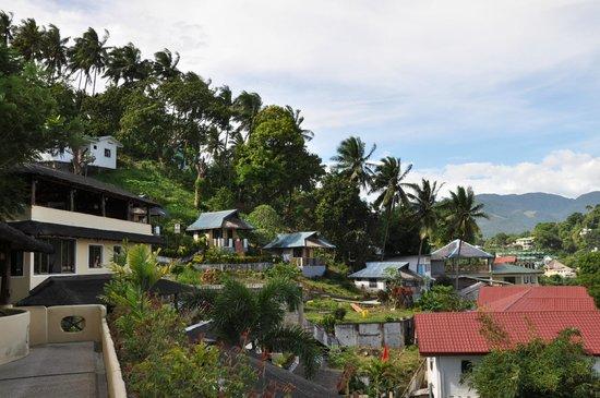 Oriental Sabang Hill Resort : von der Hotelterrasse aus