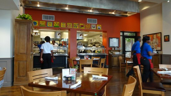 Cafe Reconcile: View of the kitchen