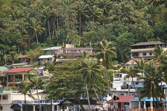 Oriental Sabang Hill Resort : von der Bucht aus