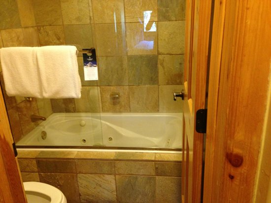 Mountain Lodge Telluride: Bathroom with jetted tub!