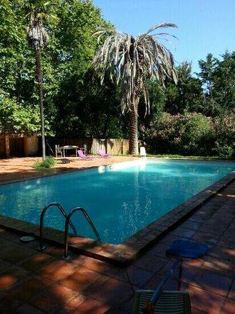 Mas Bazan: piscine du domaine
