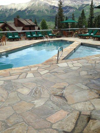 Mountain Lodge Telluride: Pool and hot tub