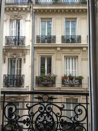 Hotel de la Cité Rougemont : Vista dal balconcino della camera
