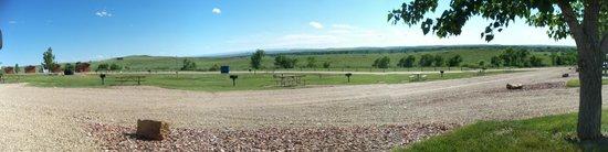 Garryowen, MT: View From Our Cammpsite