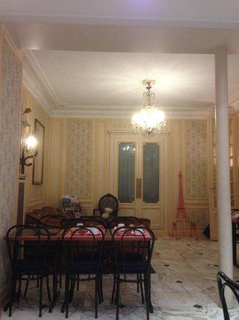 Hotel de la Cité Rougemont : Particolare sala da pranzo