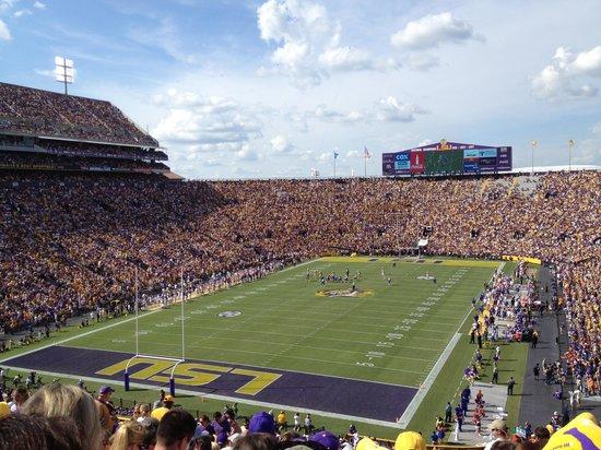 LSU Tiger Stadium: LSU vs Florida