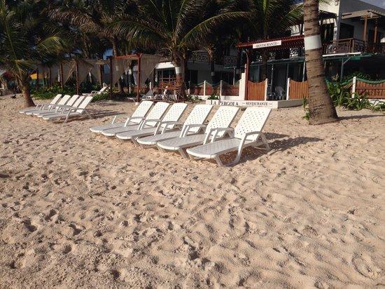Hotel MS San Luis Village : Poca gente...