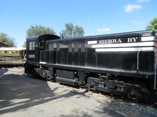 "Railtown 1897 State Historic Park: Sierra Railway 1265 ""Rosebud"""