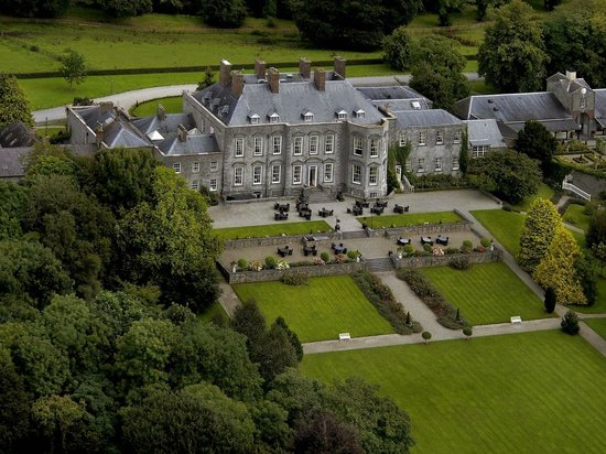 Castle Durrow: Overview of the Good South